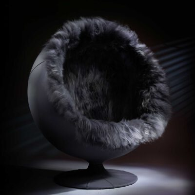 Quirky & Vintage Snow globe pod chair
