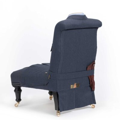 RAF Flight Lieutenants Uniform Upholstered Chair