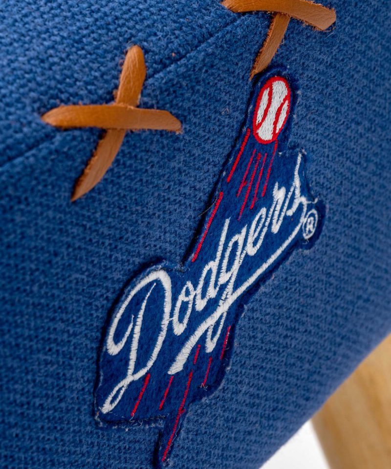 Dodgers baseball shirt upholstered chair