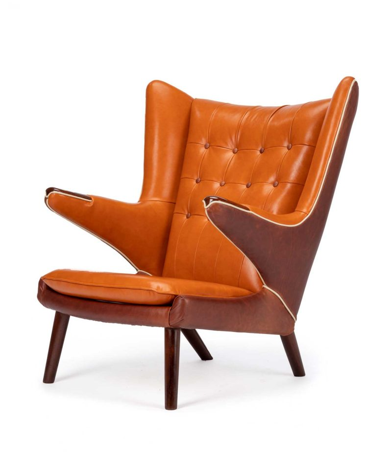 Hans Wegner Papa Bear Chair By A. P. Stolen.