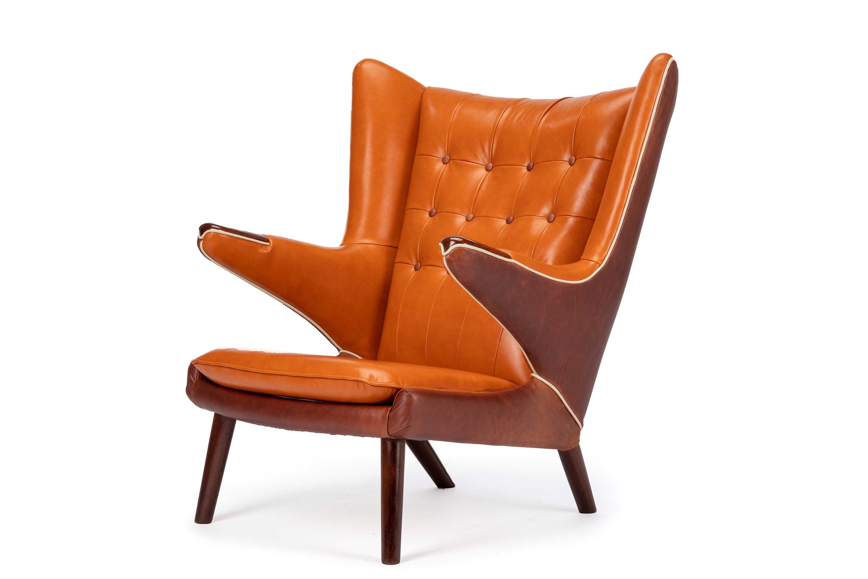 Hans Wegner Papa Bear Chair By A. P. Stolen.