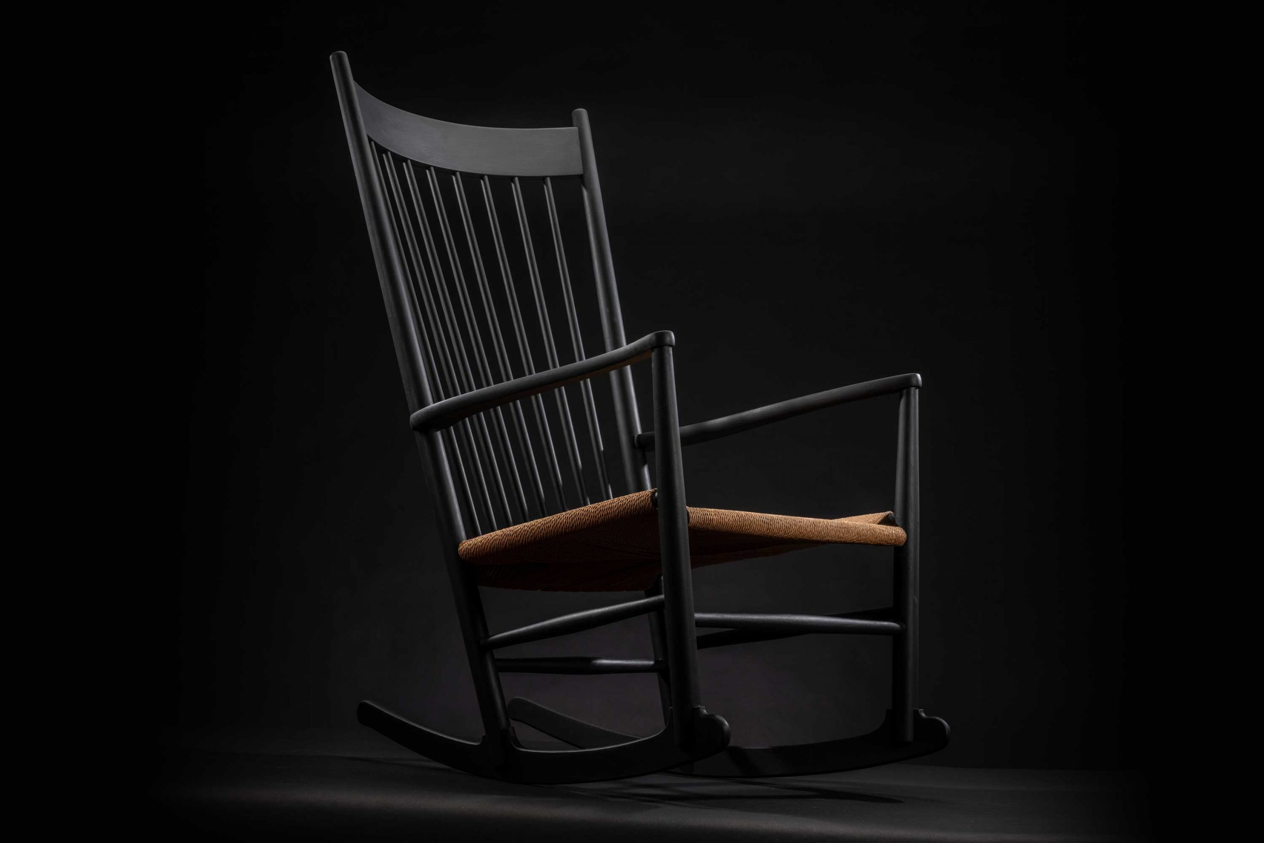 Hans Wegner Rocking Chair Black Edition 1965