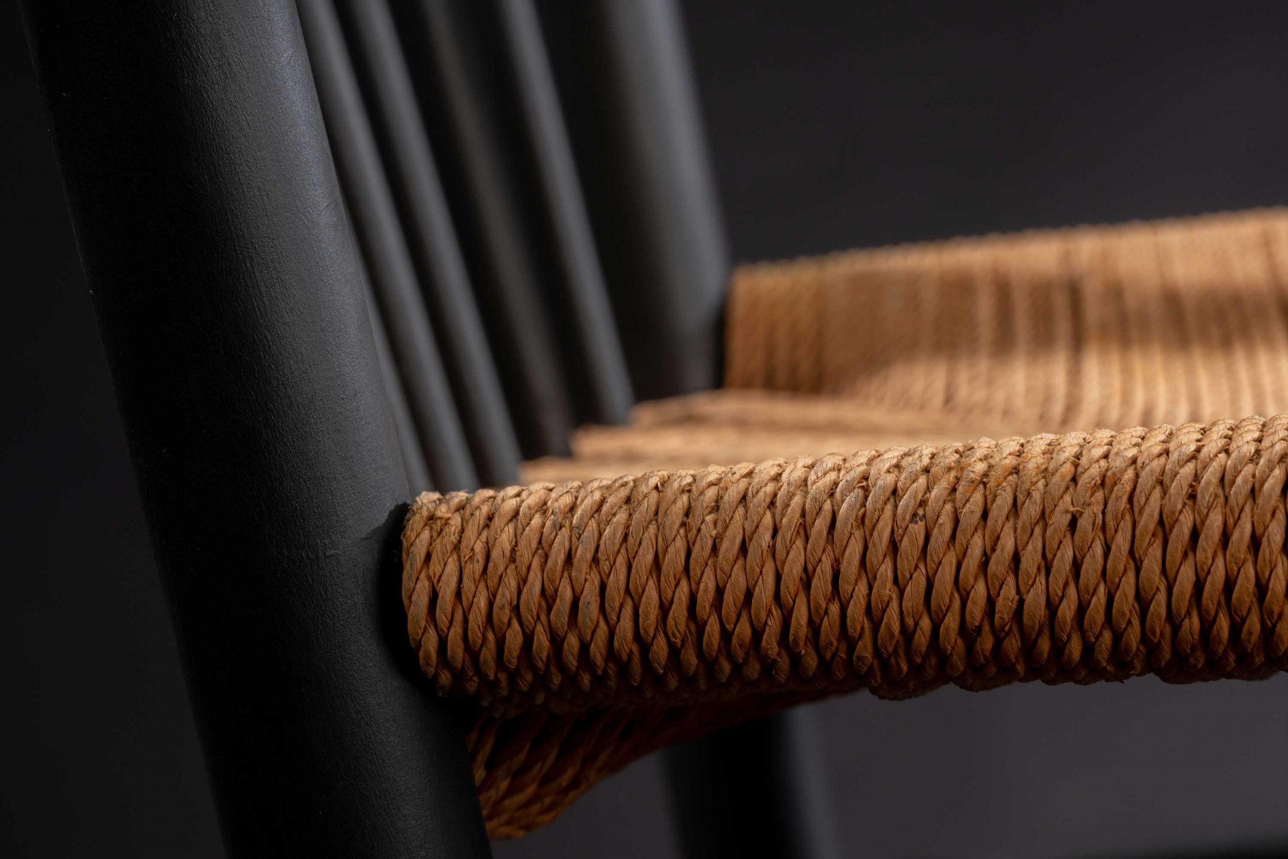 1965 Vintage Black Edition Hans Wegner Rocking Chair