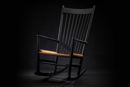 Hans Wegner Rocking Chair | Model J18 'Black Edition' 1965