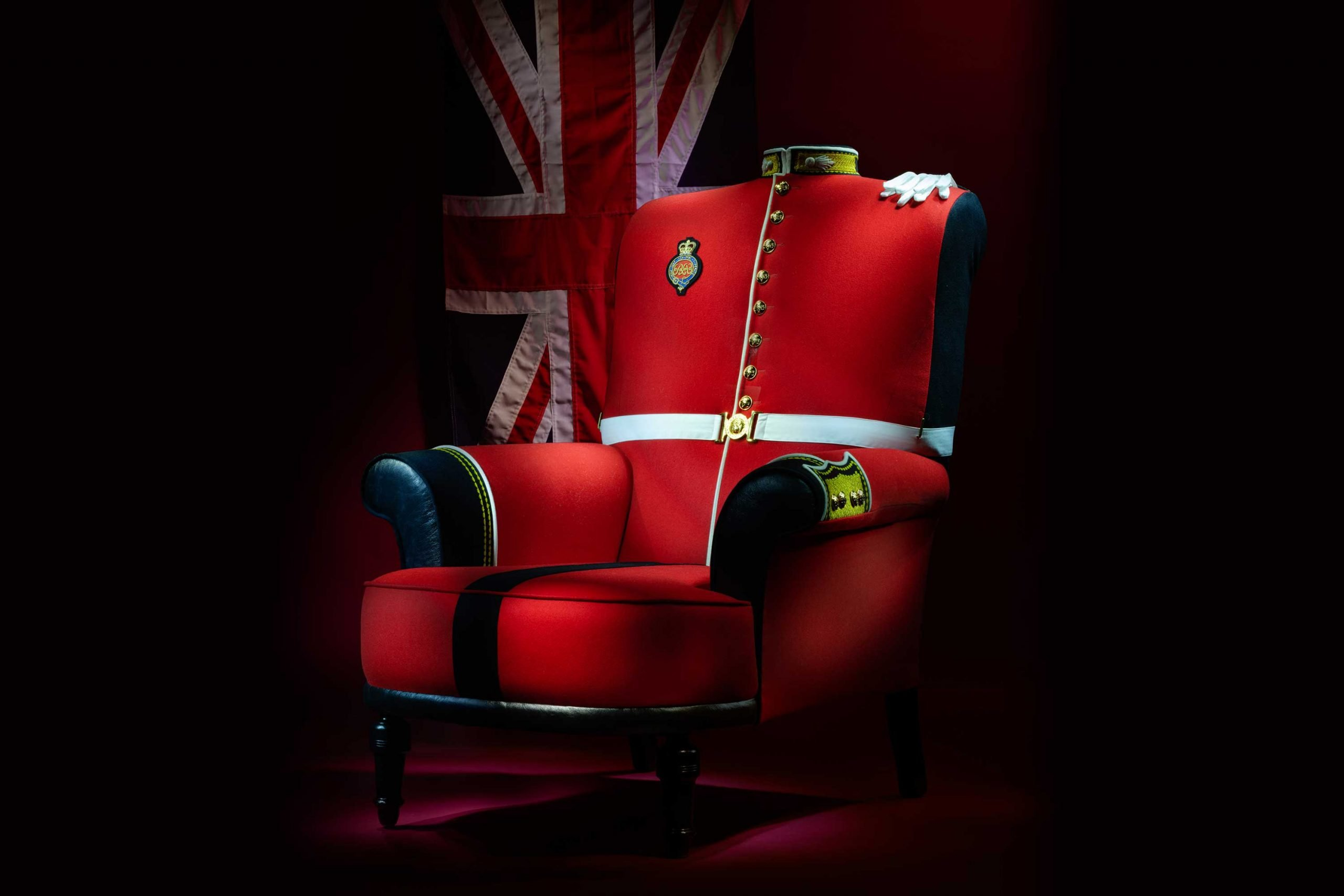 The Grenadier Guards Armchair.
